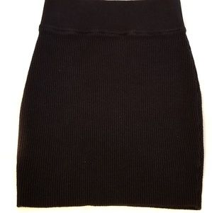 Kendall & Kylie Sweater Mini Skirt